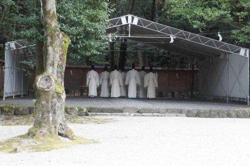 昭和天皇祭遥拝