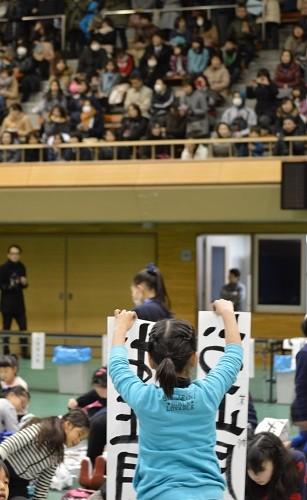 書き初め大会_奈良地区大会