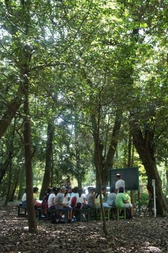 ◆昨年の林間学園の様子