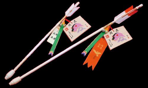絵馬付開運延寿矢〈大〉初穂料 3,000円〈小〉初穂料 2,000円
