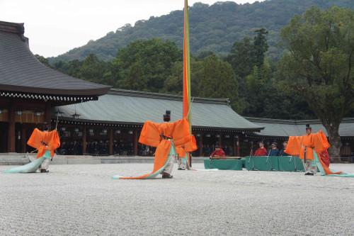 橿原神宮 久米舞